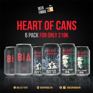 Heart Of Cans 6 pack