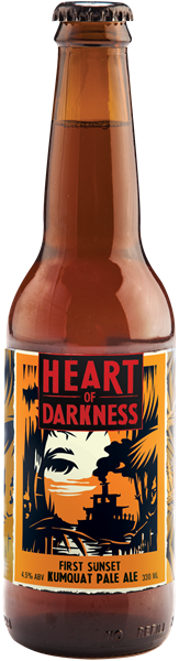HEART OF DARKNESS First Sunset Kumquat Pale Ale
