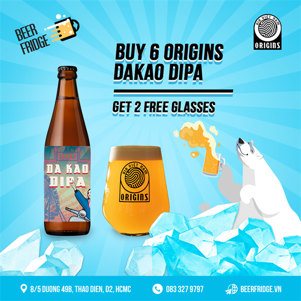 Dakao DIPA + 2 Free Origins glasses