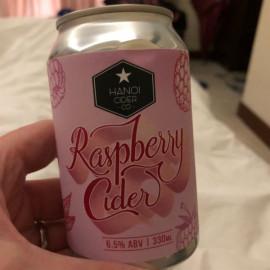 Hanoi Raspberry Cider