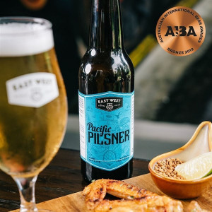 EAST WEST Pacific Pilsner