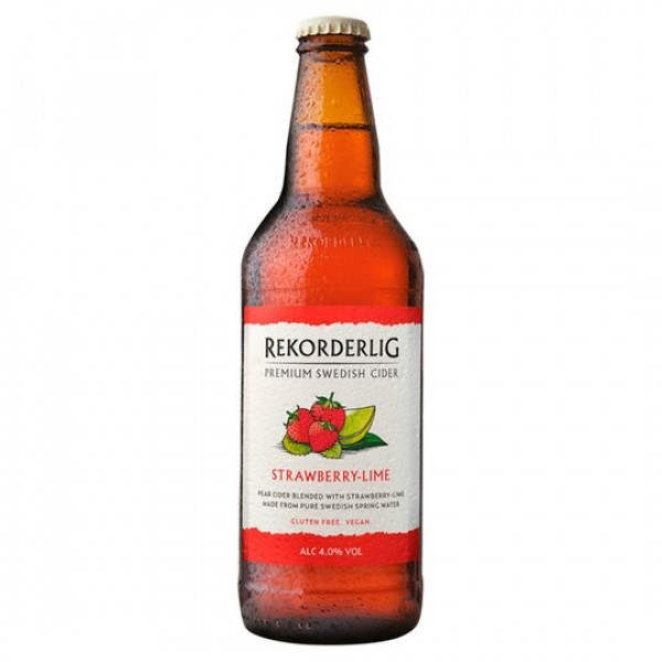 Rekorderlig Premium Strawberry Lime Cider
