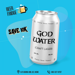 PASTEUR God Water Craft Lager