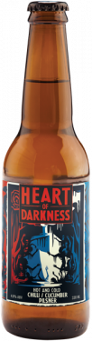 HEART OF DARKNESS Hot And Cold Chili Cucumber Pilsner