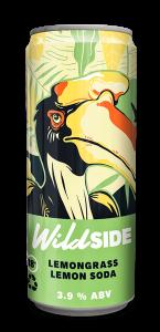 WILDSIDE Lemongrass Lemon Soda