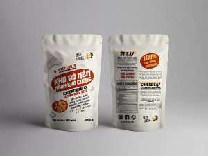 Spicy Chili's & Lots of Phu Quoc pepper jerky 100Gram