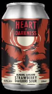 HEART OF DARKNESS BLINDING SUNSHINE STRAWBERRY DAIQUIRI SOUR