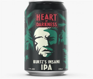 HEART OF DARKNESS Kurtz's Insane IPA Can